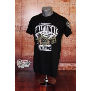 Tee-shirt BILLY EIGHT  Born & die in USA
