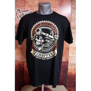 Tee shirt Custom Motorcycle Chopper