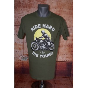 Tee shirt Ride Hard