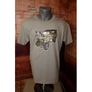 Tee shirt  Jeep Willis