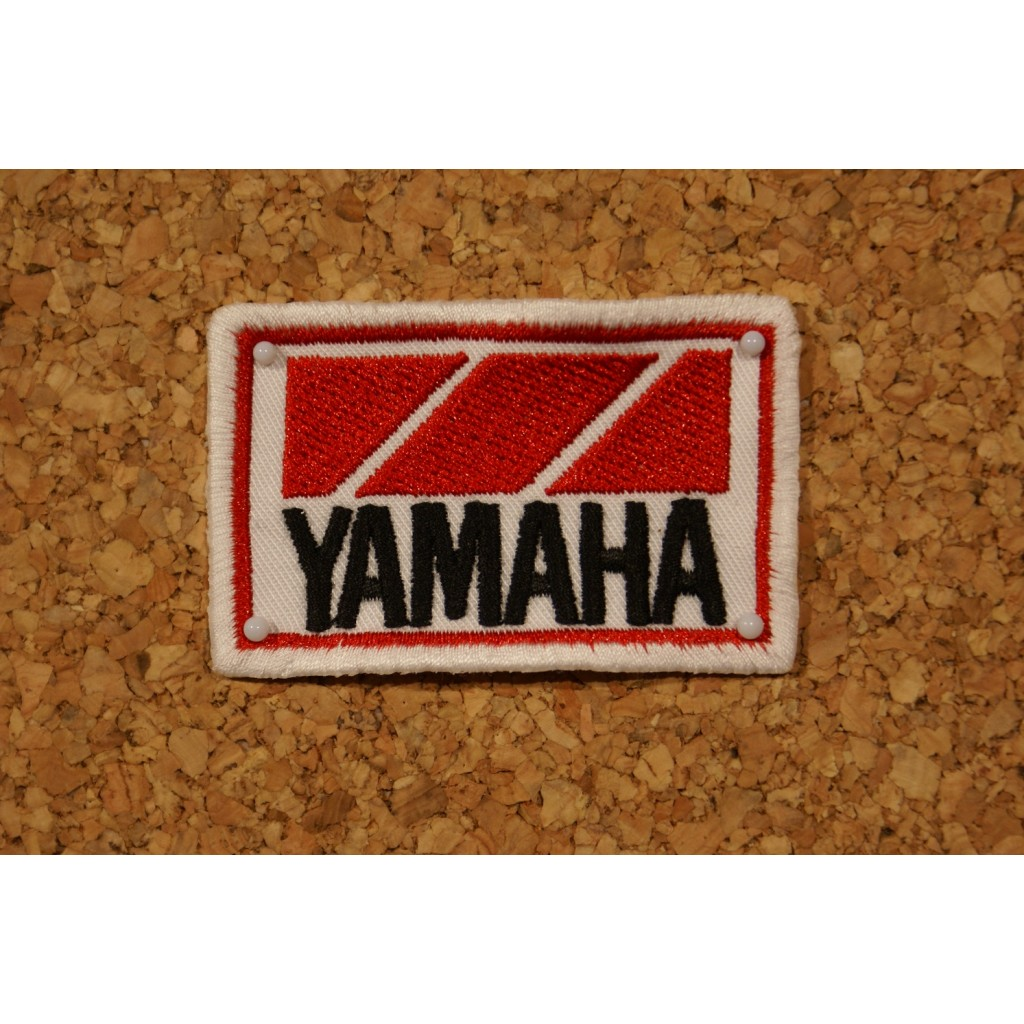 Patch yamaha retro wheels for Ecusson a coudre yamaha